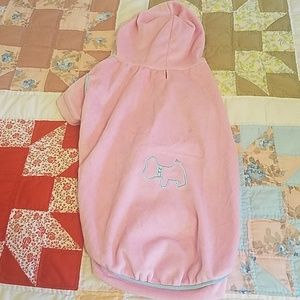 "Other - Velour""jumper"" in gorgeous pink for your dog. Med"